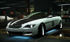 World BMWM6ConvertibleMonochrome