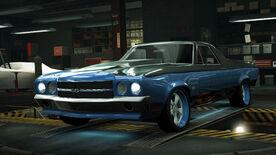 NFSW Chevrolet El Camino SS Blue Juggernaut
