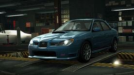 NFSW Subaru Impreza WRX STI Blue