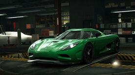 NFSW Koenigsegg Agera Emerald Green