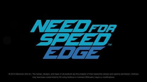 NEED FOR SPEED™ EDGE Teaser
