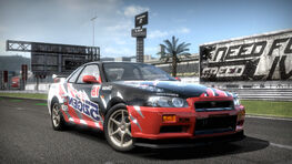 NISSAN R34 GT-R RESHOOTS