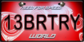 WorldLicensePlate13BRTRY