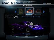 NFSHP2 Car - McLaren F1 NFS PC