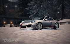 Nfs world snowflake porsche 911 carrera s 991