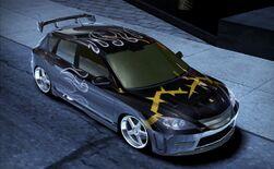 Carbon MazdaMazdaspeed3ChallengeSeries