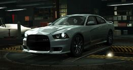 NFSW Dodge Charger SRT8 (2012) Silver