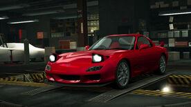 NFSW Mazda RX-7 RZ Red
