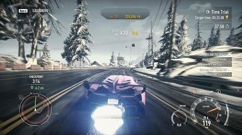 Need For Speed Rivals - rozgrywka z PC