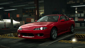 NFSW Nissan Silvia S15 Red