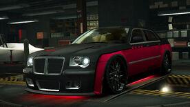 NFSW Chrysler HEMI 300C SRT8 Red Juggernaut