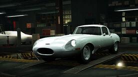 NFSW Jaguar E-Type Lightweight White