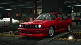 NFSW BMW M3 Sport Evolution Red