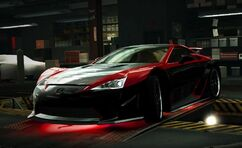 Nfs world lexus lfa the beast 2012