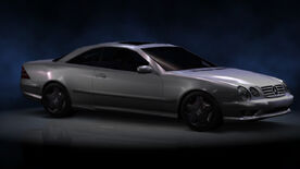 NFSHP2 PS2 Mercedes CL55 AMG NFS edition