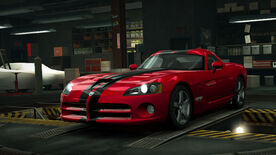 NFSW Dodge Viper SRT10 Red