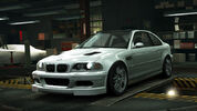 NFSW BMW M3 GTR E46 Silver