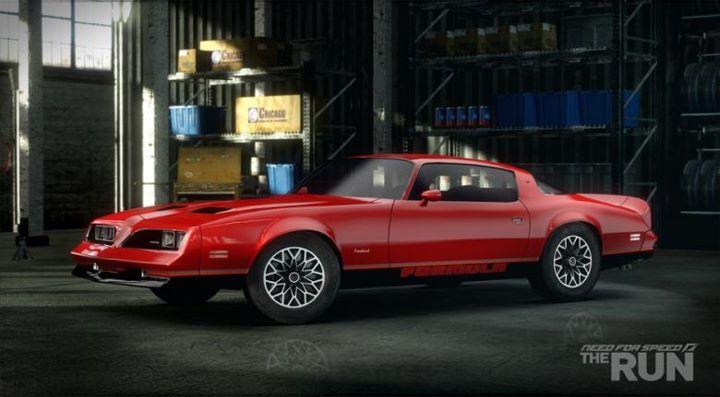 Firebird Nfs The Run Car List