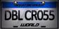 WorldLicensePlateDBLCR055