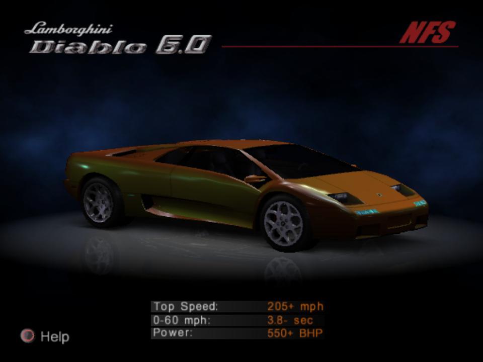 Lamborghini Diablo Need For Speed Wiki Fandom Powered By Wikia