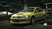 NFSW Mitsubishi Lancer Evolution VIII Yellow