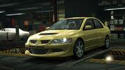 NFSW Mitsubishi Lancer Evolution VIII Yellow