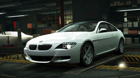 NFSW BMW M6 Coupe White