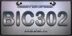 WorldLicensePlateBIC302