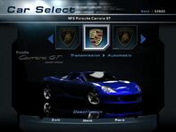 NFSHP2 Car - Porsche Carrera GT NFS PC