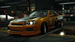 NissanGTRR34UNDGRDWorld