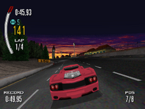 Ferrari F50 in the PSX version of Need for Speed II