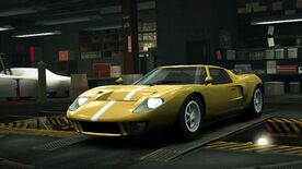 NFSW Ford GT40 Mk1 Yellow