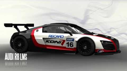 Audi R8 LMS Turntable Render