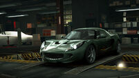 NFSW Lotus Elise Dark Green
