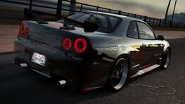 NissanGTRR34RavenWorld