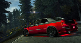 World Chrysler300CRedJuggernaut
