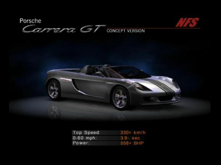 Image - NFSHP2 Car - Porsche Carrera GT NFS.jpg | Need for Sd ...