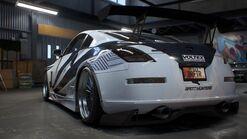 NFSPB Nissan 350Z Platinum