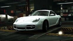 PorscheCaymanWhiteWorld