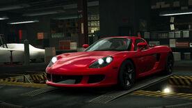 NFSW Porsche Carrera GT Red