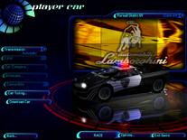 NFSHS Lamborghini Diablo SV Police