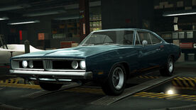 NFSW Dodge Charger RT Blue