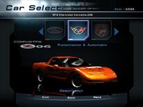 NFSHP2 Car - Chevrolet C5 Corvette Z06 NFS PC