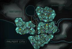 Palmont City (C - mapa)