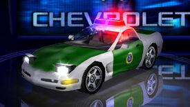 NFSHS PC ChevroletCorvette Pursuit DE