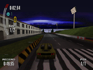 McLaren F1 in the PSX version of Need for Speed II