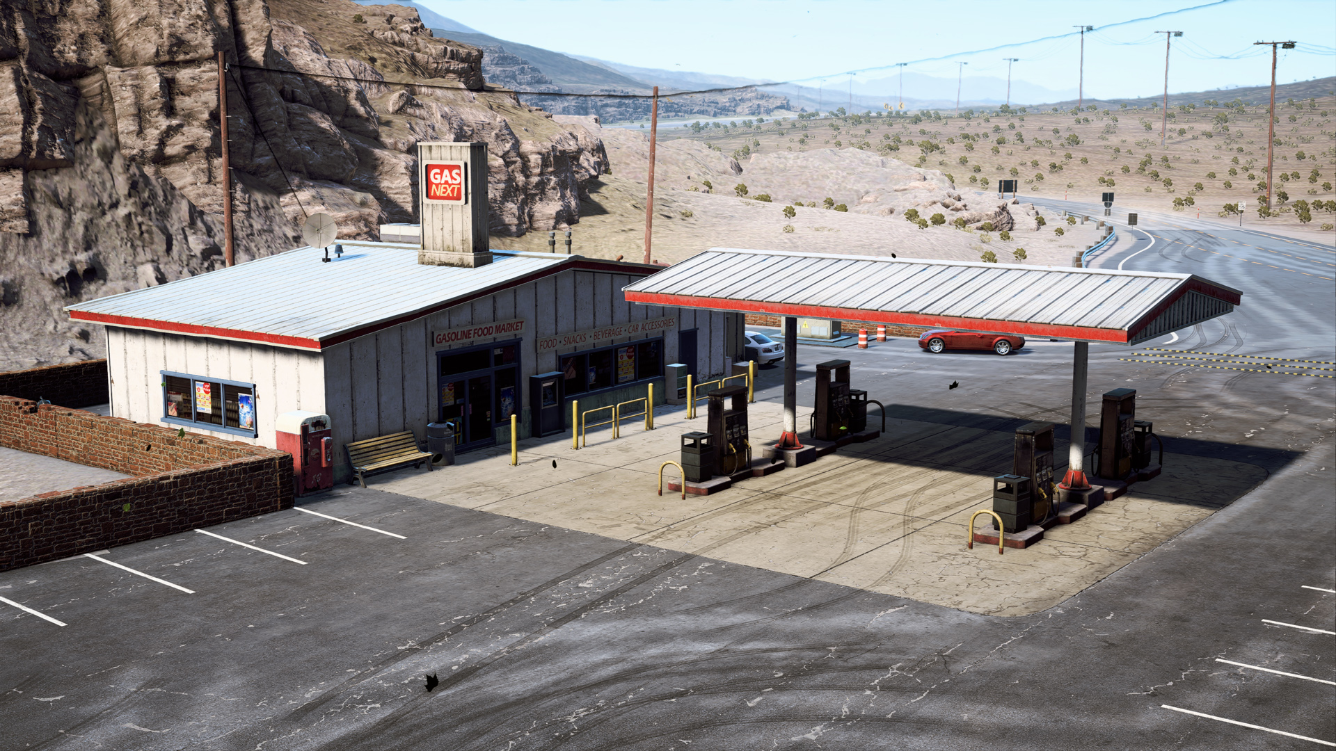 Scrapyard Gas Station Need For Speed Wiki Fandom