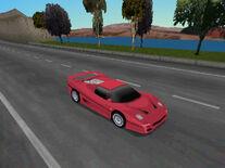 NFSII PS1 Ferrari F50