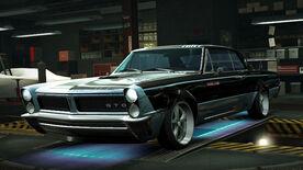 NFSW Pontiac GTO 1965 Blue Juggernaut