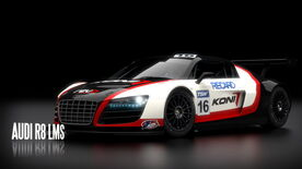 Audi R8 LMS Shift